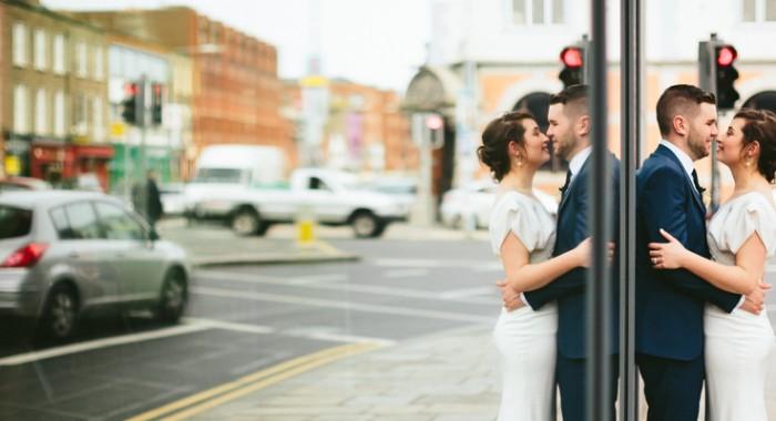 Daniel & Deborah // Alternative wedding photography Dublin