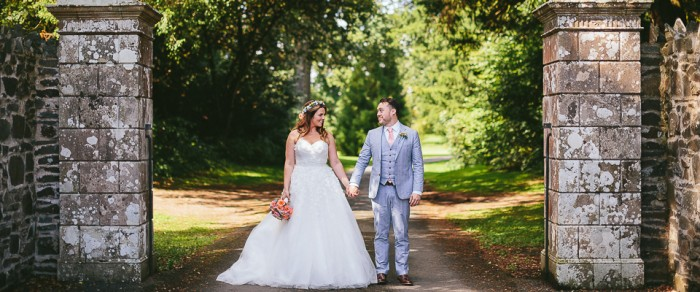 Tom & Sarah // Larchfield Estate Wedding