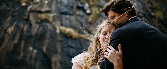 Robert & Taylor // Irish Clifftop Outdoor Wedding