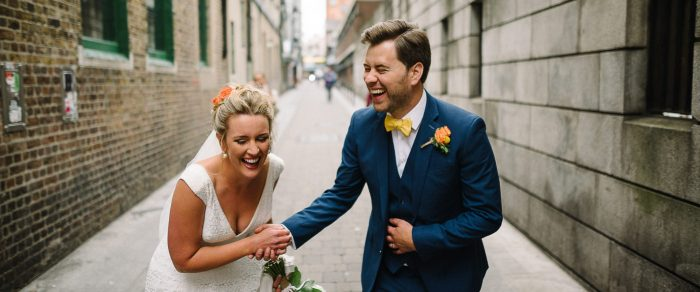 Cian & Laura // Fallon & Byrne Wedding Dublin