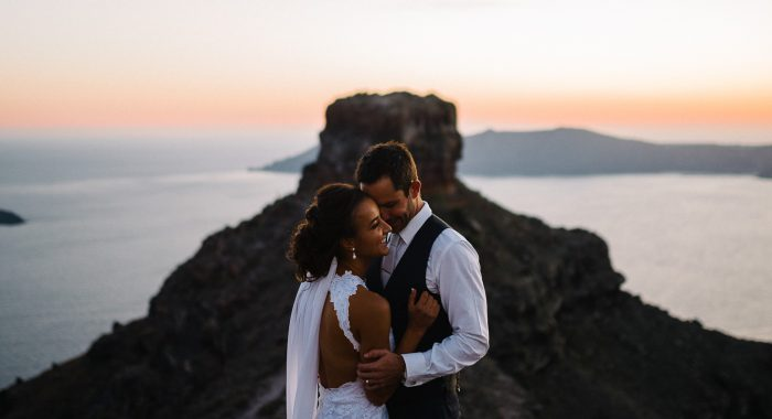 Mitch & Eva // Santorini Wedding Photographer