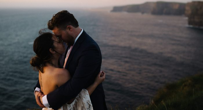 Keith & Ashley // Elopement on the Cliffs of Moher