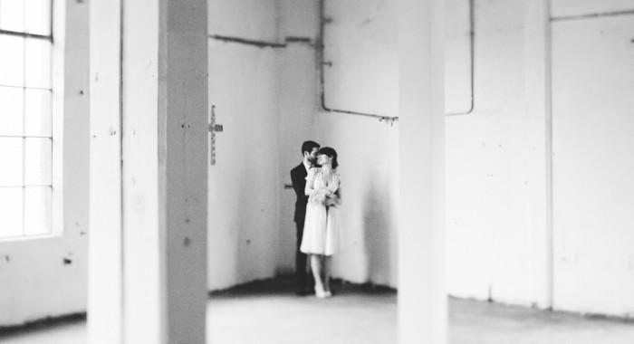 Paul & Grainne // The Chocolate Factory Dublin Wedding