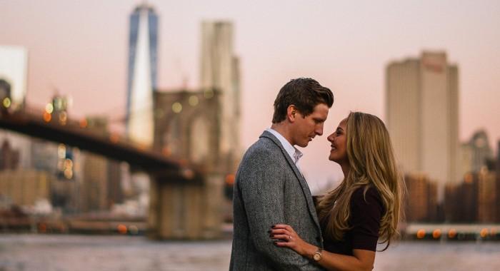 Andrew & Diane // New York City Engagement