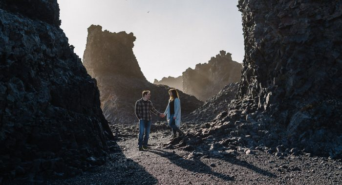 Neil & Josee // Iceland Engagement