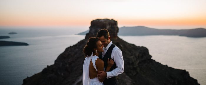 Mitch & Eva // Santorini Wedding Photographer