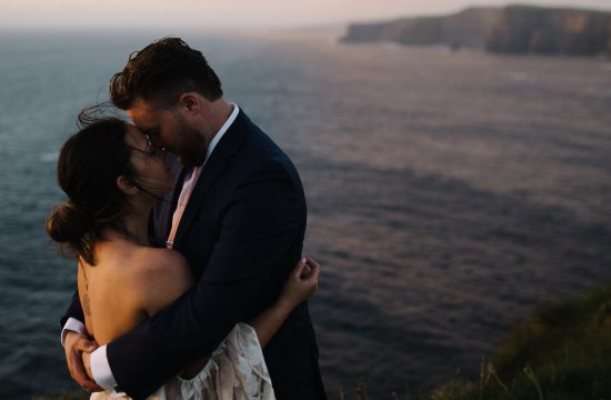 Elopement on the Cliffs of Moher Ireland