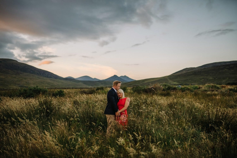 Mourne Mountains engagement wedding photographer Northern Ireland