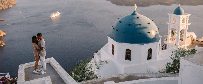 Scott & Alyssa // Santorini Proposal
