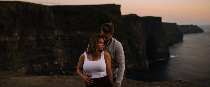 Matt & Jess // Cliffs of Moher Engagement