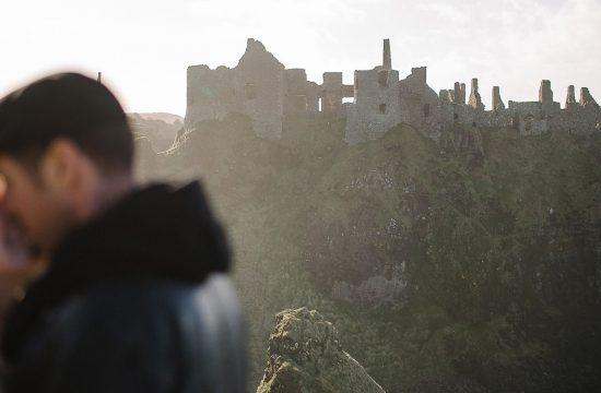 Dunluce Castle Engagement photographer wedding