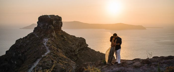 Jeremy & Ann // Santorini Engagement Photography