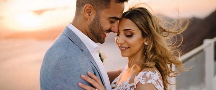Fares & Najah // Santorini Destination Wedding