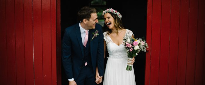 Ben & Karen // Larchfield Estate Weddings