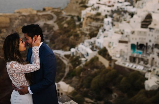 Santorini Honeymoon session