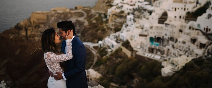 Quang & Natalie // Santorini Honeymoon Session