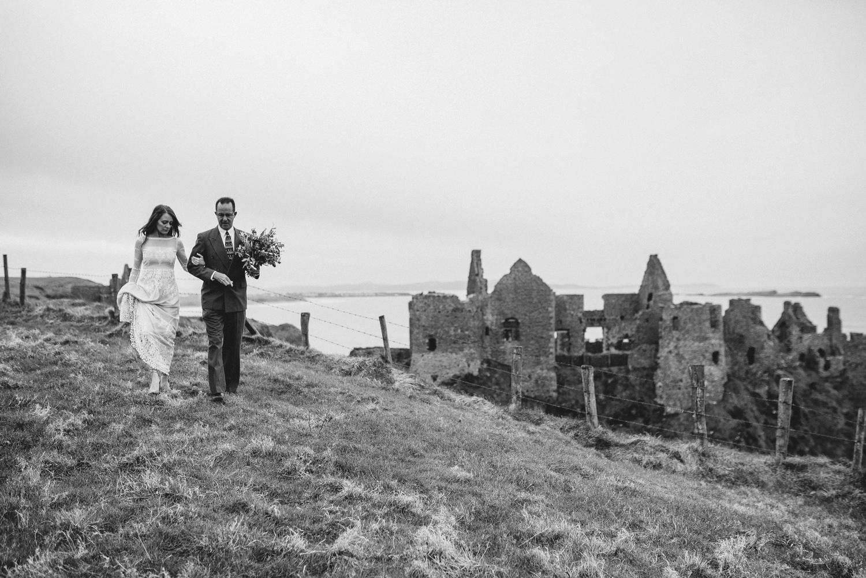Dunluce Castle Elopement Northern Ireland Irish elopement_0028.jpg