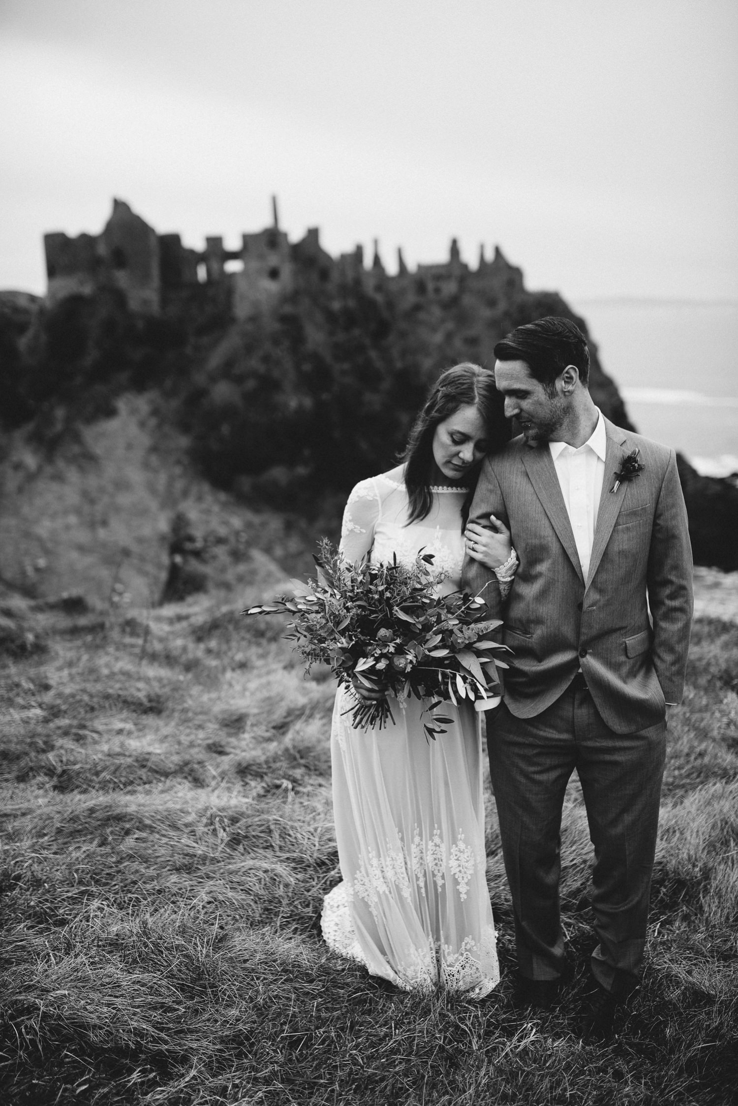 Dunluce Castle Elopement Northern Ireland Irish elopement_0055.jpg