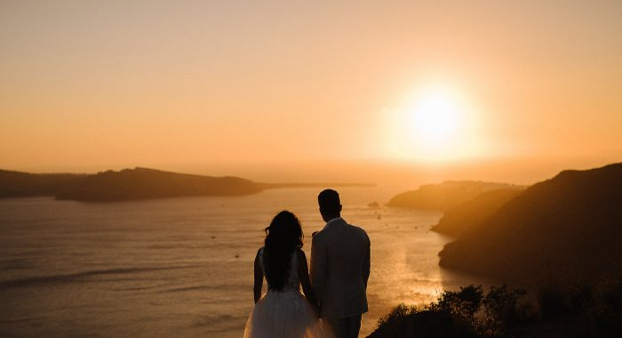 Jeremy & Ann // Intimate Santorini Destination Wedding