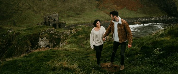 Josh & Sofia // Northern Ireland Engagement Session