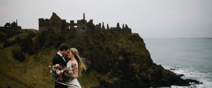 Bryars & Liz // Causeway Coast Elopements in Northern Ireland