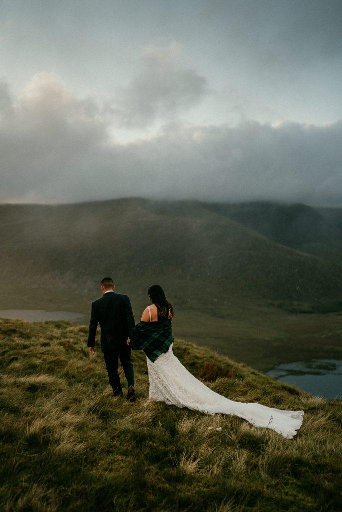 Dingle Peninsula Elopement Irish elopements in castles