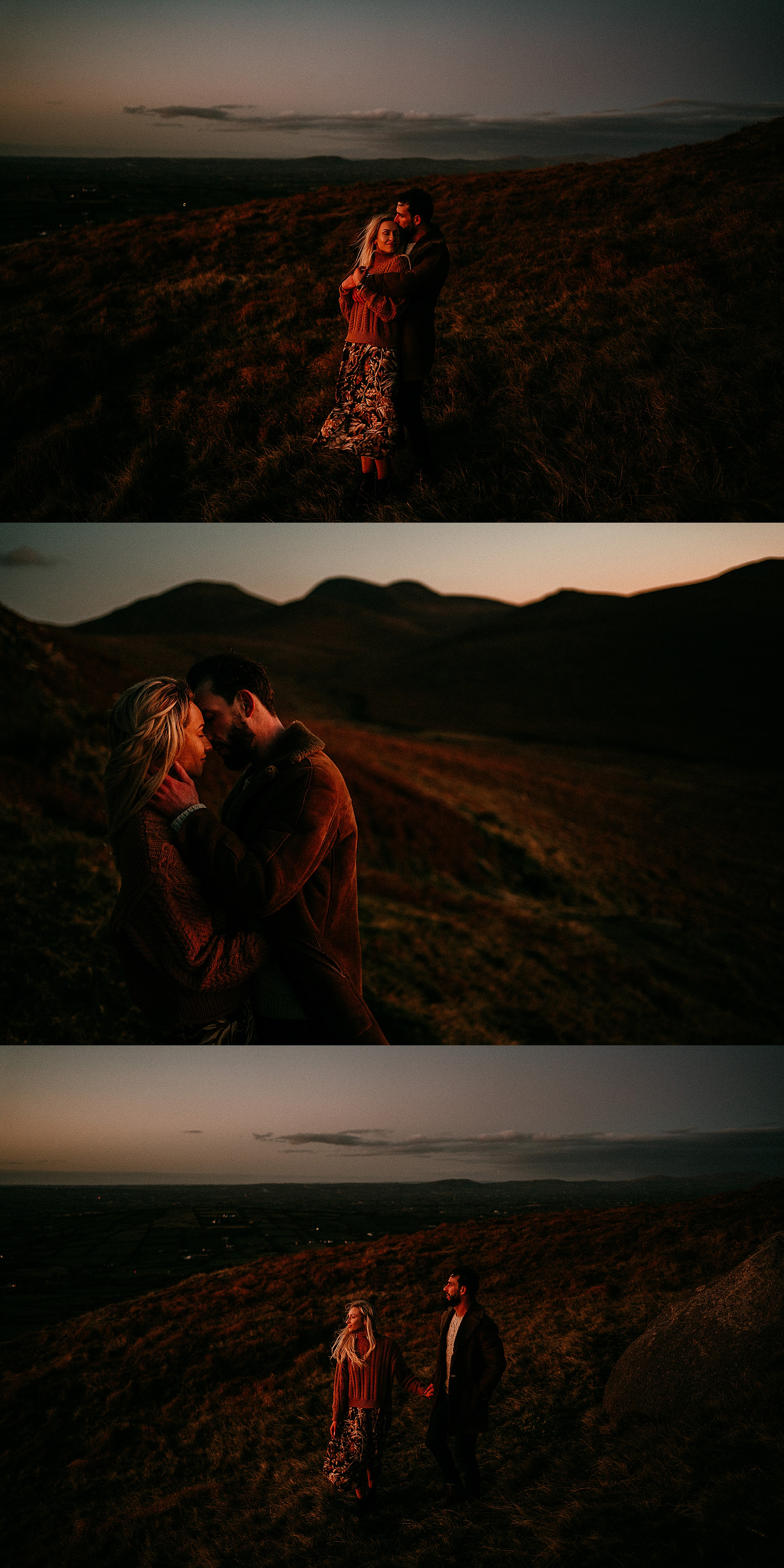 Mourne Mountains Adventure Sessions Ireland elopements