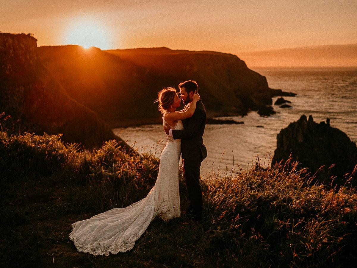 Northern Ireland elopement photographer Irish elopements