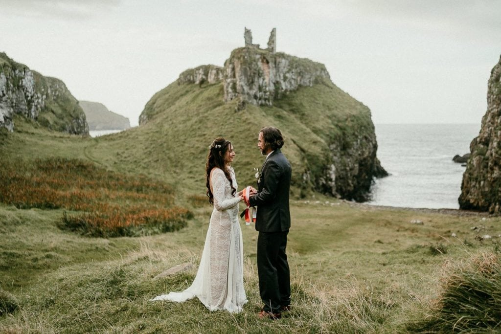 Northern Ireland elopements elope to Ireland irish elopement photographer