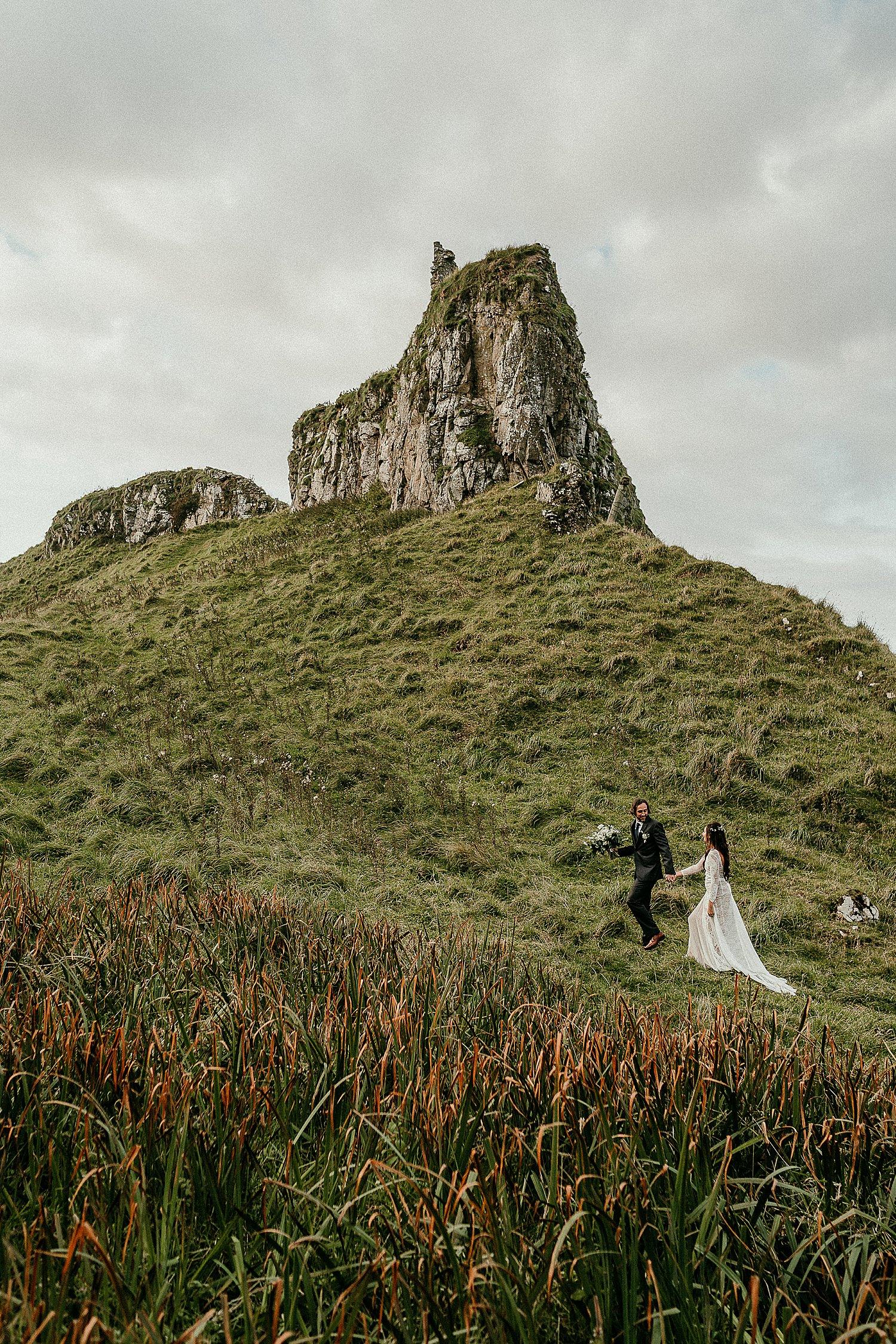 Northern Ireland Vow Renewal Irish elopements Causeway Coast
