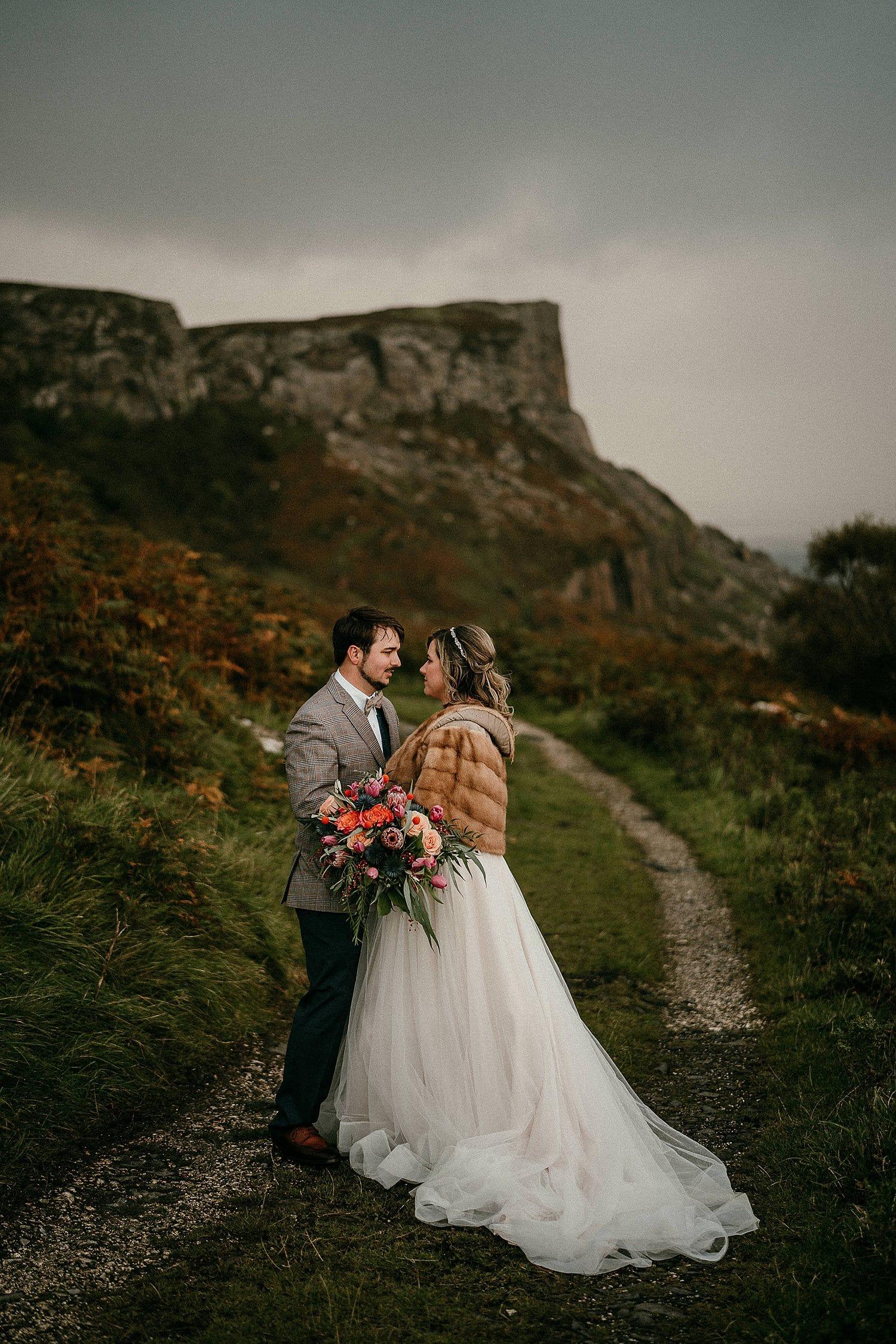 Murlough bay elopement Northern ireland elopement