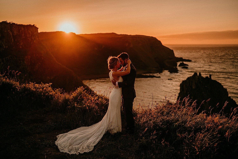 Elope to Ireland best elopement photographs Northern Ireland elopements