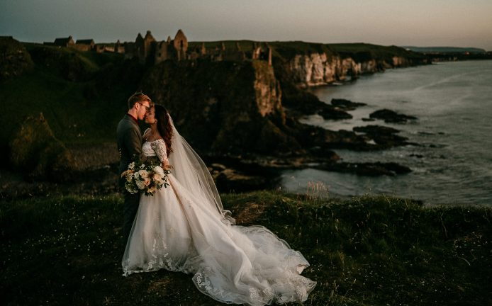 Northern Ireland elopement photographer Irish elopements
