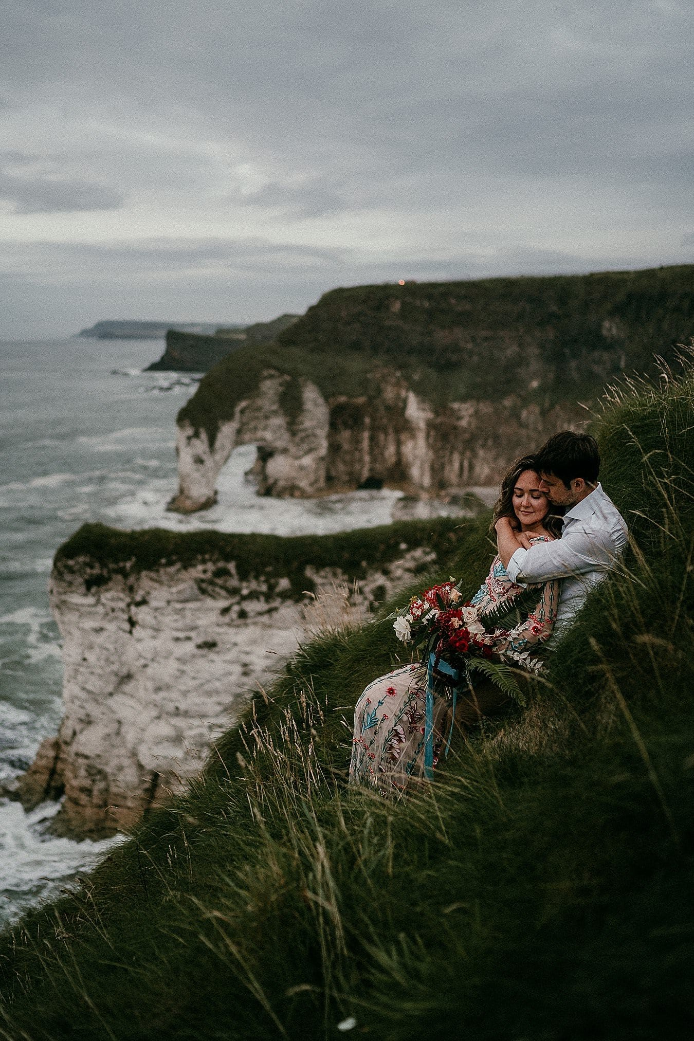 Northern Ireland adventure elopements irish elopement photographer