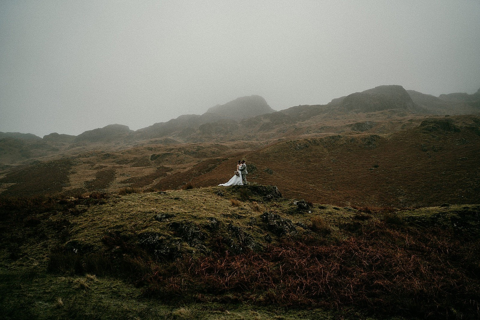 Winter Northern Ireland elopement photographer Irish elopements