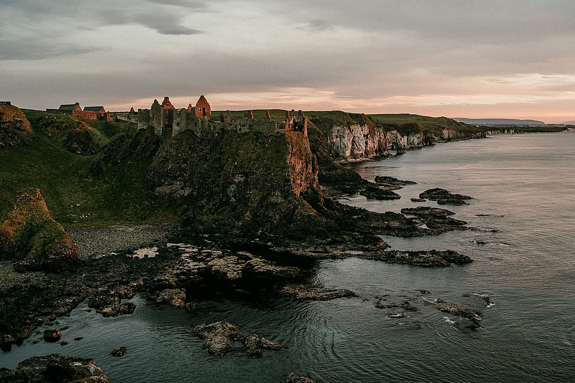 DUNLUCE CASTLE ELOPEMENTS IN NORTHERN IRELAND
