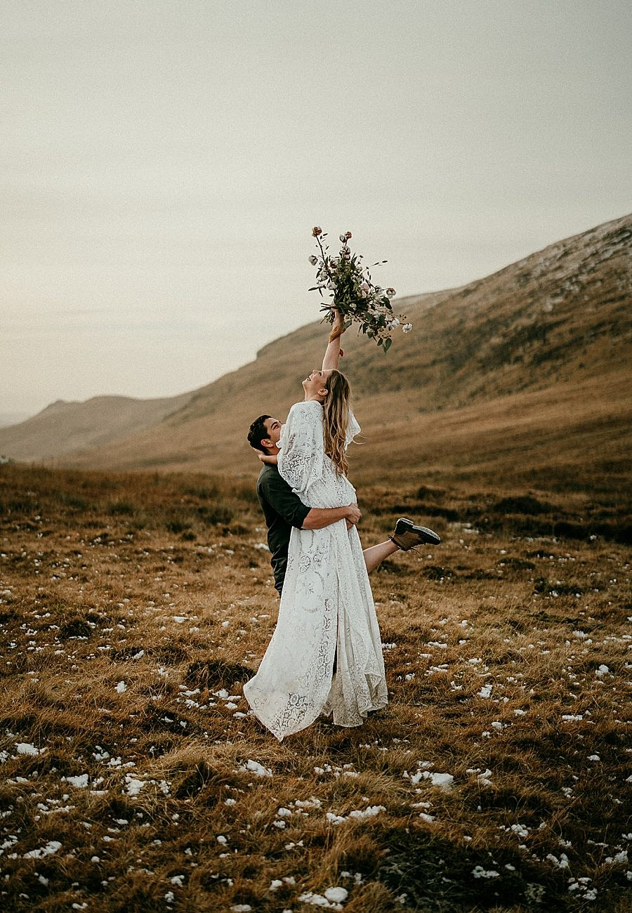Elopement photographer in Ireland eloping in ireland